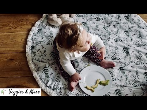 BEST FIRST FOODS FOR YOUR VEGAN BABY ● Dietitian-approved 3-step formula