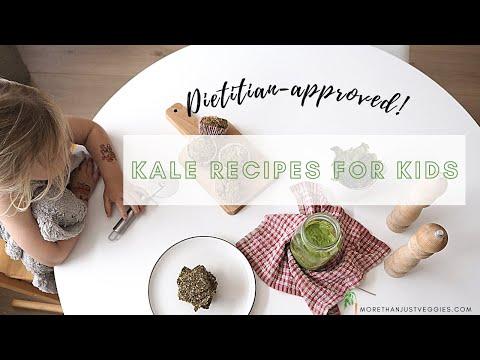 KALE RECIPES FOR KIDS ● Tasty plant-based snacks