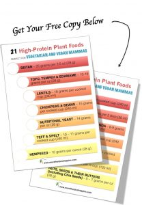 High Protein Vegetarian and Vegan Foods