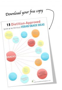Quick & healthy dietitian-approved vegan snacks