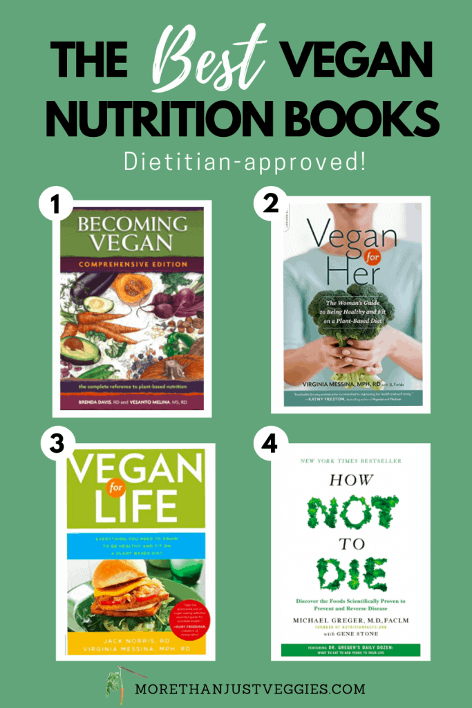 Vegan nutrition books