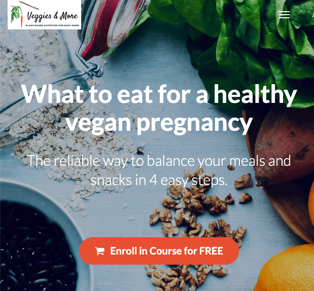 Vegan Pregnancy Mini-Course