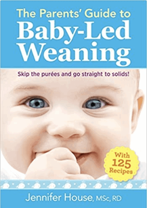 Child nutrition books about baby-led weaning