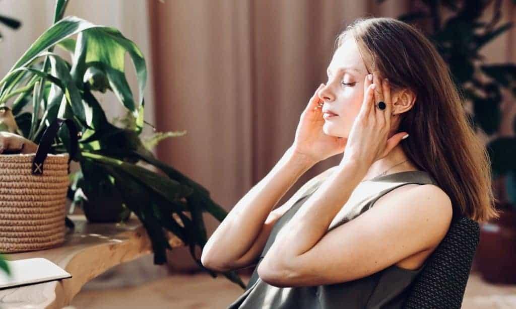 Vegan women with headache