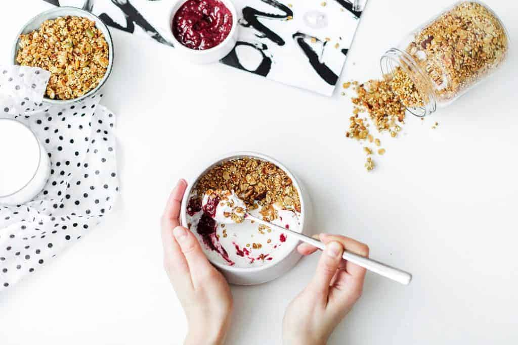 Vegan iron-rich breakfast