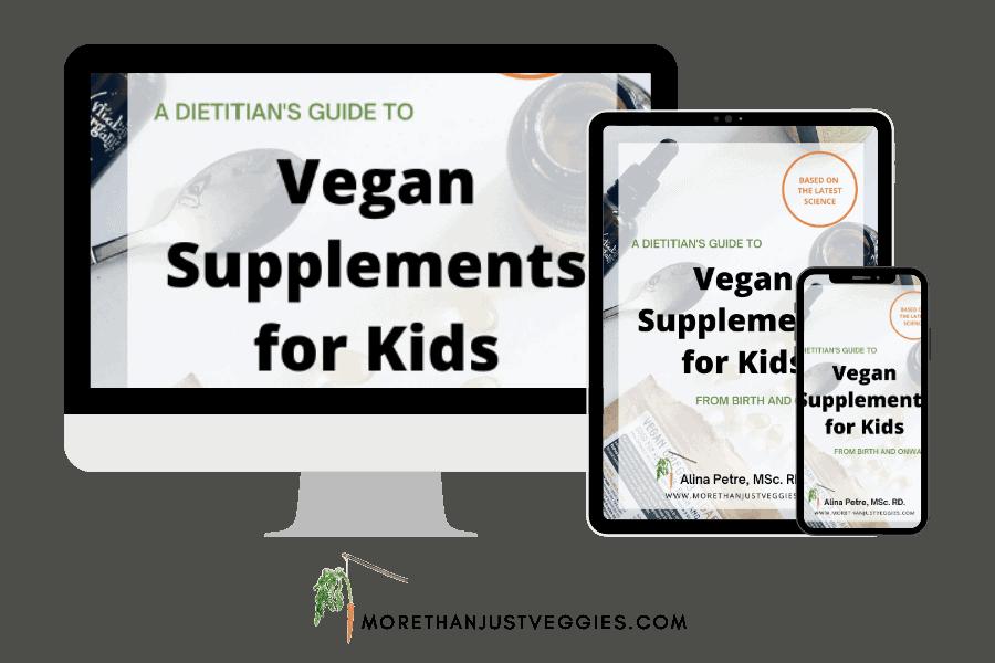 Vegan Supplements for Kids