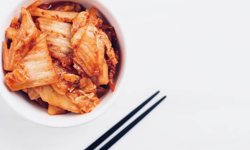 Probiotic-rich kimchi